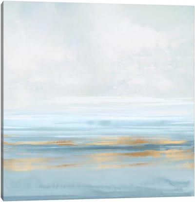 Sky Blue Reflection I Canvas Art Print
