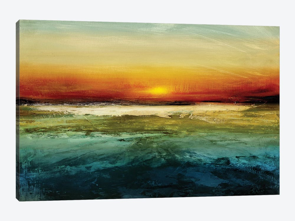 Setting Sun 1-piece Canvas Print