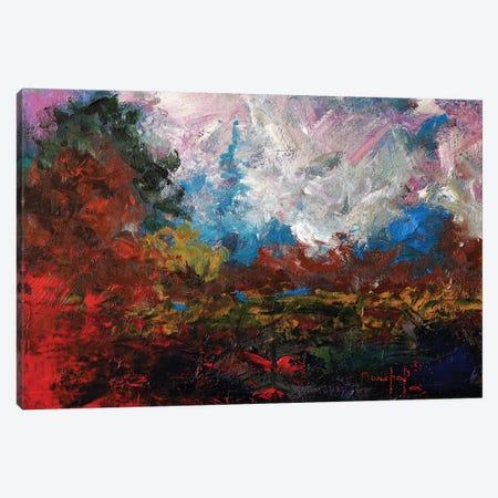 Burnt Orange Landscape Canvas Print #JMF11} by Joseph Marshal Foster Canvas Art