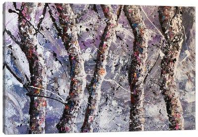 Cool Trees Canvas Art Print