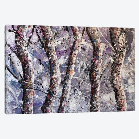 Cool Trees Canvas Print #JMF12} by Joseph Marshal Foster Canvas Wall Art