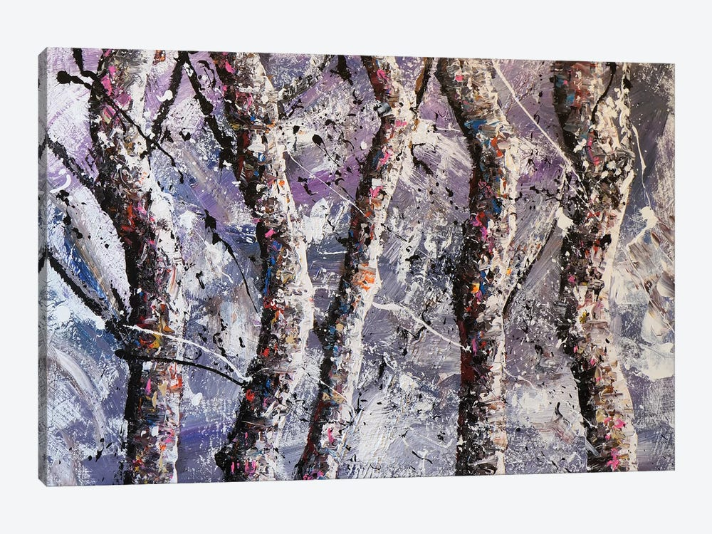 Cool Trees by Joseph Marshal Foster 1-piece Canvas Art Print