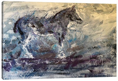 Abstract Horse I Canvas Art Print