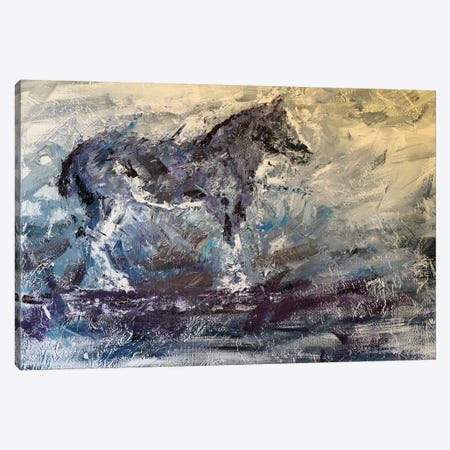 Abstract Horse I Canvas Print #JMF1} by Joseph Marshal Foster Canvas Art