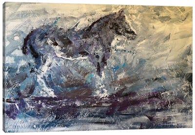 Abstract Horse I Canvas Art Print