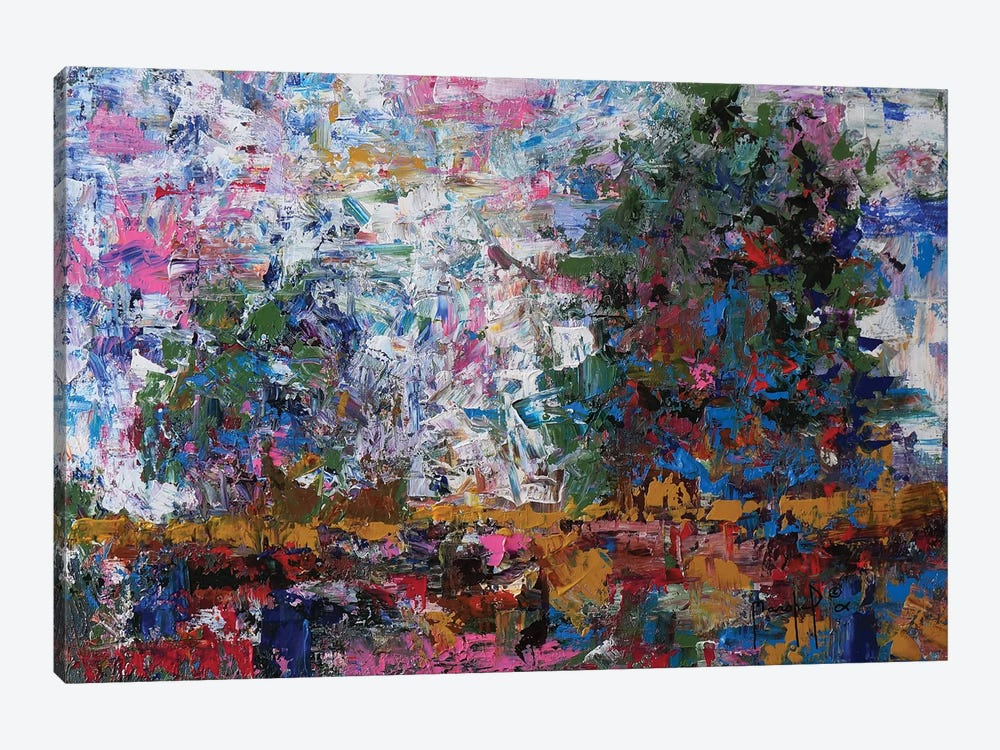 Landscape V by Joseph Marshal Foster 1-piece Canvas Wall Art