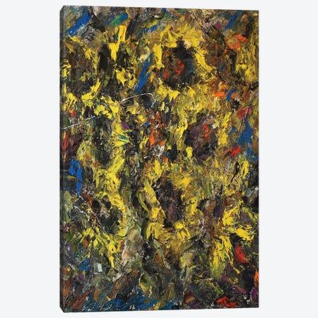 Sunflowers Canvas Print #JMF35} by Joseph Marshal Foster Canvas Print