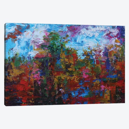 The Horizon IV Canvas Print #JMF41} by Joseph Marshal Foster Canvas Print