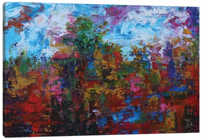 The Horizon IV Canvas Art Print