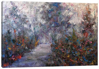 Walking Path I Canvas Art Print