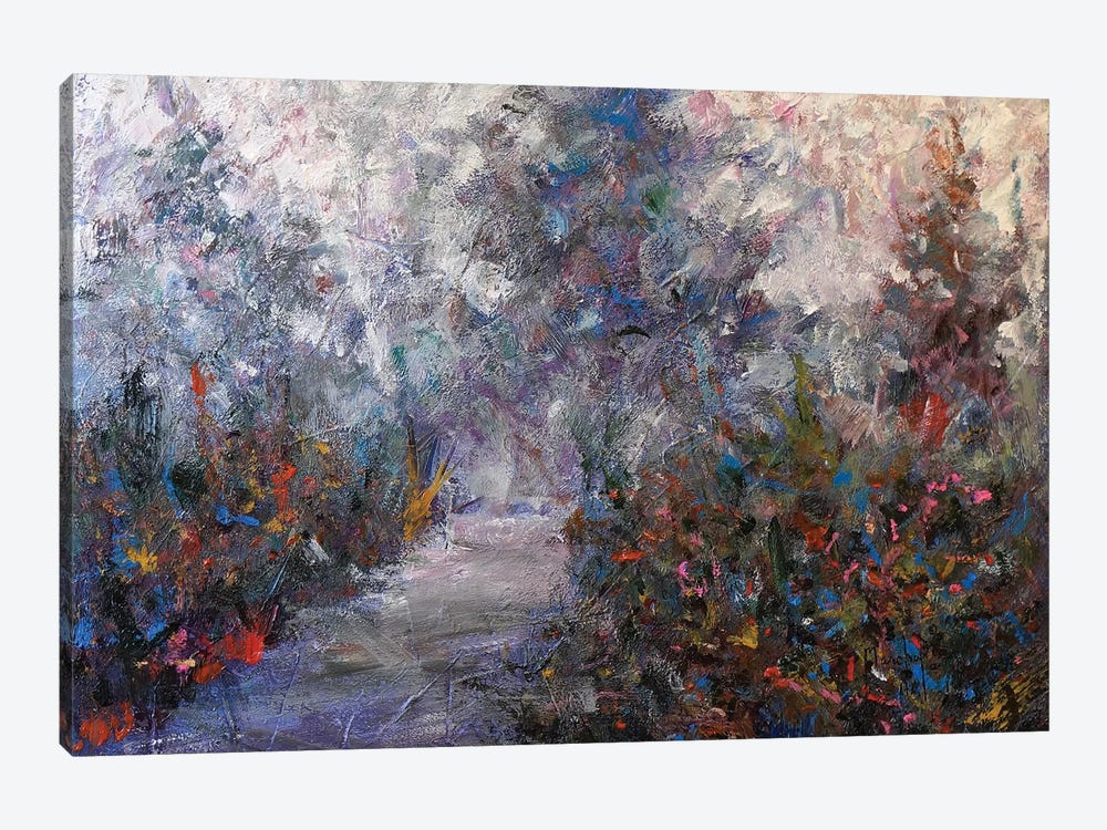 Walking Path I by Joseph Marshal Foster 1-piece Canvas Wall Art