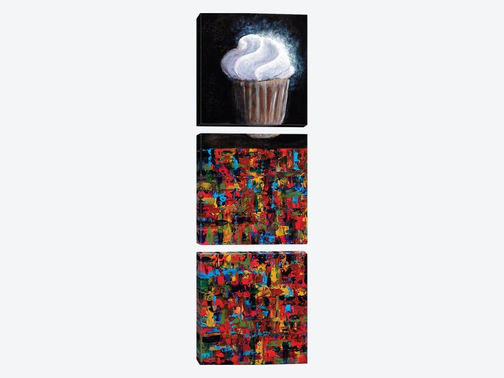 Cupcake by Joseph Marshal Foster 3-piece Art Print