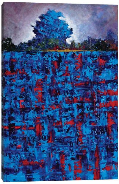 Blue Daze Canvas Art Print
