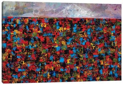 Haze Canvas Art Print