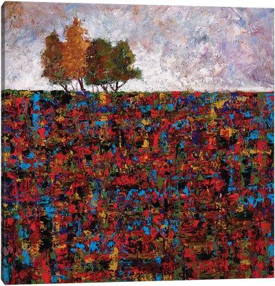 High Rise Canvas Art Print