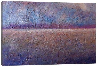Blue Horizon Canvas Art Print
