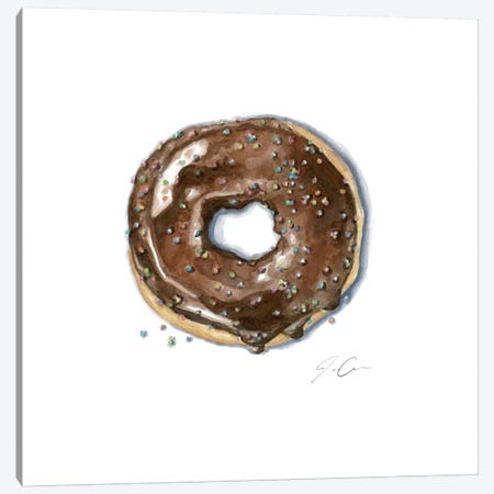 Donut Bother Me II Canvas Print #JMG13} by Jackie Graham Art Print