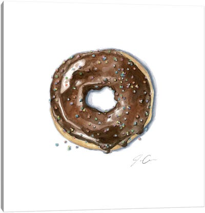 Donut Bother Me II Canvas Art Print