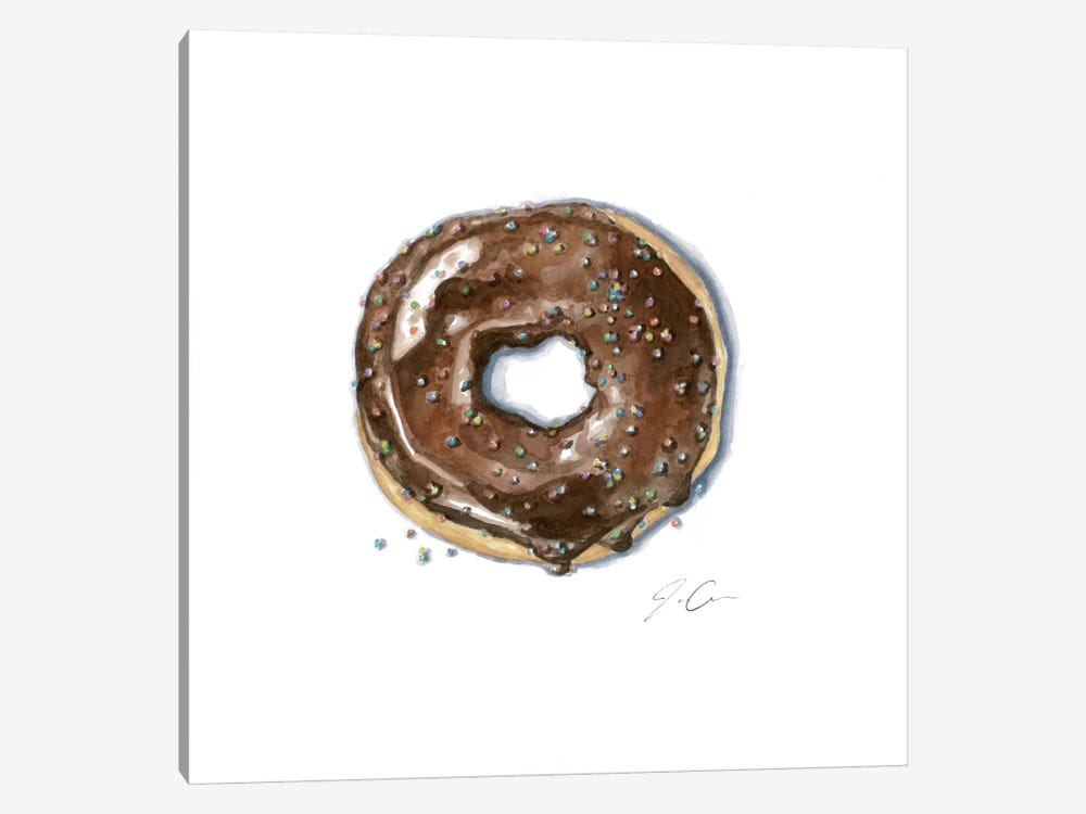 Donut Bother Me II by Jackie Graham 1-piece Canvas Art Print