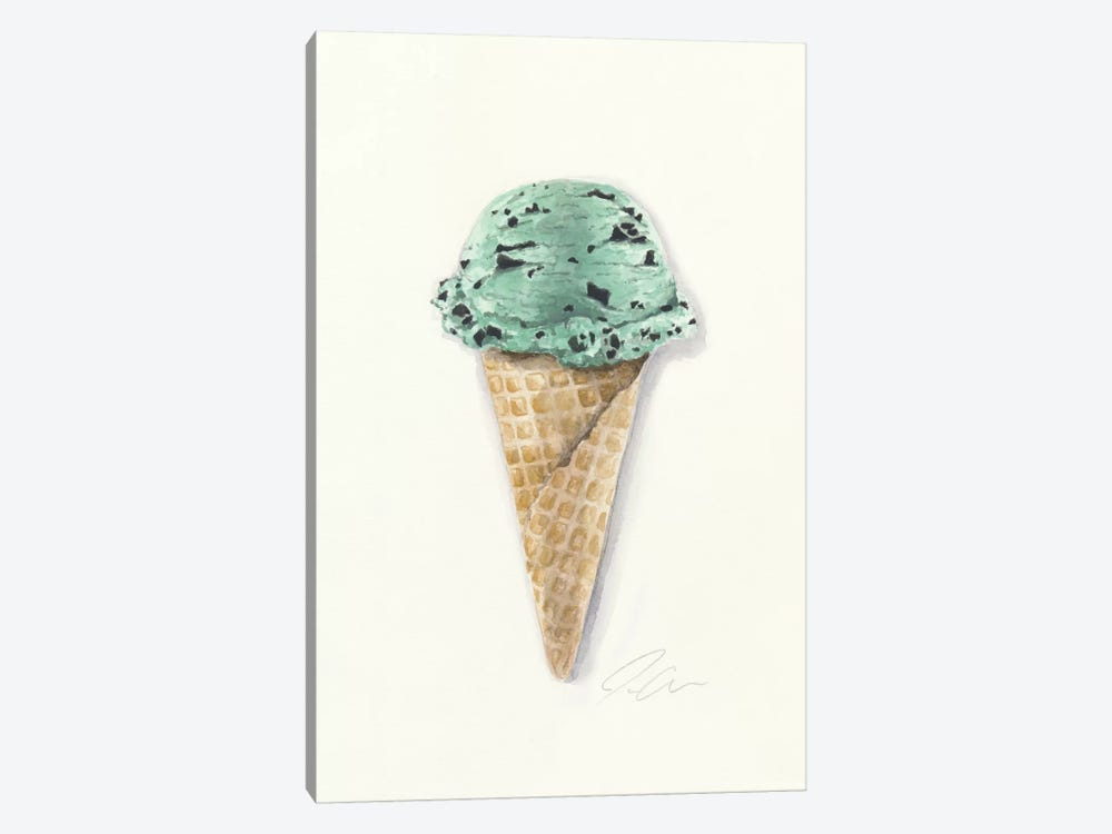 Mint Chip by Jackie Graham 1-piece Art Print
