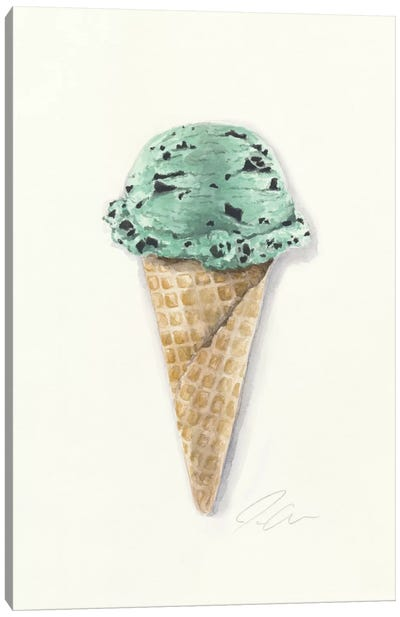Mint Chip Canvas Art Print