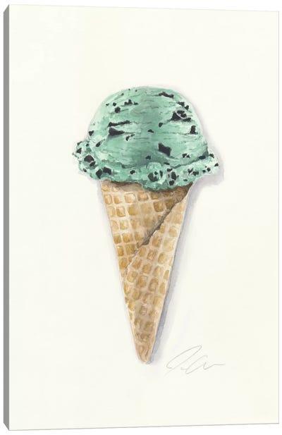 Mint Chip Canvas Art Print
