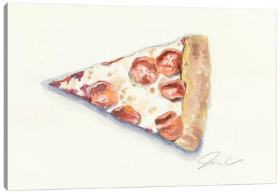 Pizza Canvas Art Print
