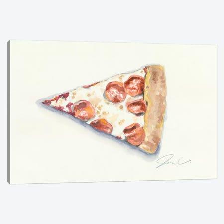 Pizza Canvas Print #JMG24} by Jackie Graham Art Print