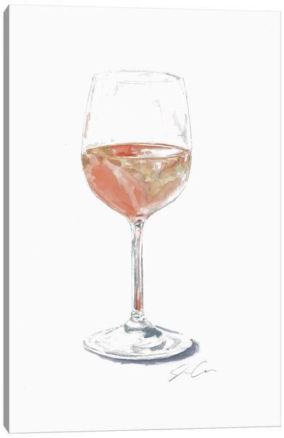 Rose Wine Canvas Art Print