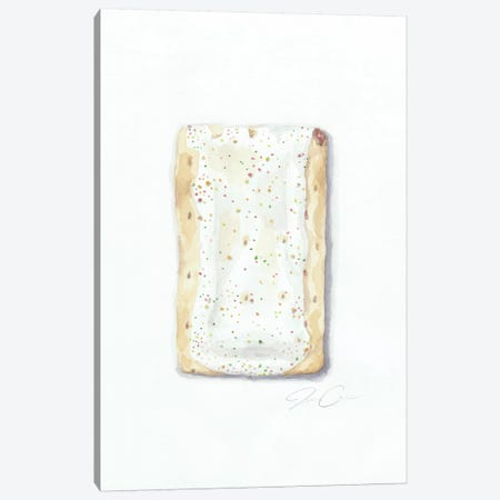Strawberry Pop-Tart 3-Piece Canvas #JMG31} by Jackie Graham Canvas Art Print