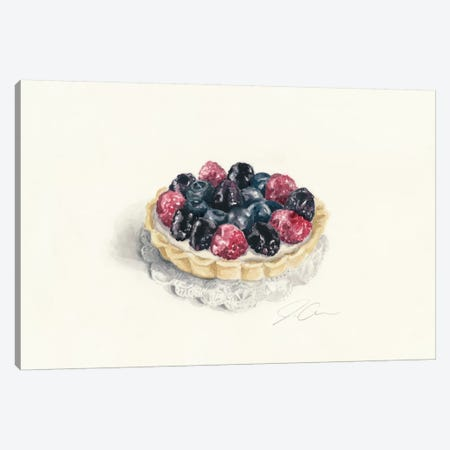 Tart 3-Piece Canvas #JMG32} by Jackie Graham Canvas Print