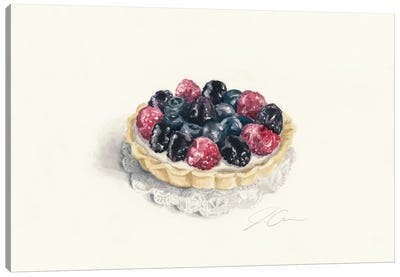 Tart Canvas Art Print