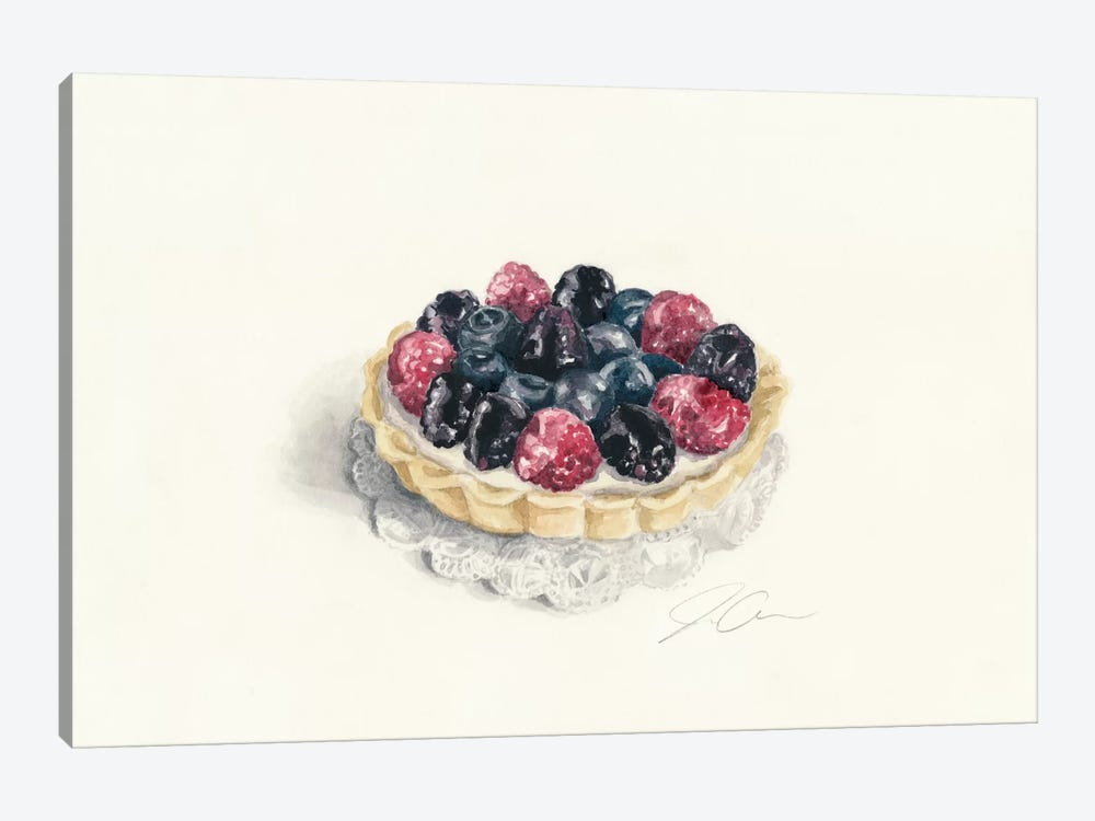 Tart 1-piece Canvas Wall Art