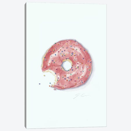 This Is Not A Donut Whole Canvas Print #JMG34} by Jackie Graham Canvas Wall Art