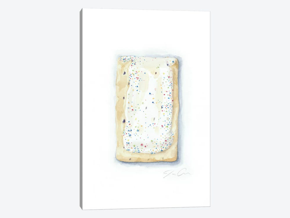 Blueberry Pop-Tart by Jackie Graham 1-piece Canvas Wall Art