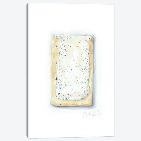 Blueberry Pop-Tart Canvas Print #JMG4} by Jackie Graham Canvas Artwork