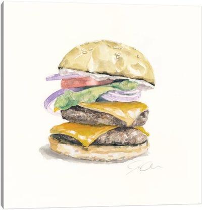 Cheeseburger Canvas Print #JMG7