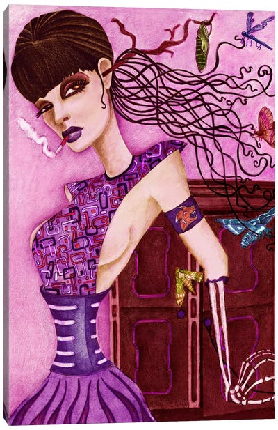 Cassandra's Closet Canvas Art Print