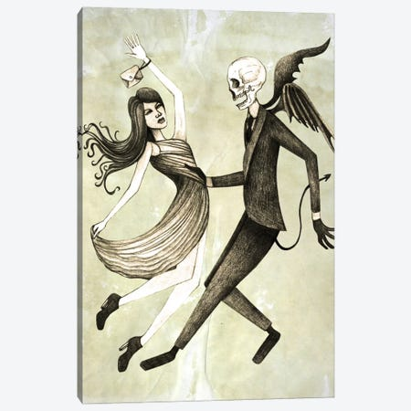 Dance Canvas Print #JMI12} by Jami Goddess Art Print