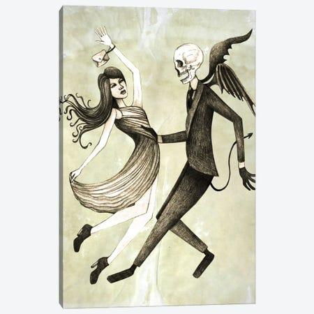 Dance Canvas Print #JMI12} by Jami Goddess Art Print