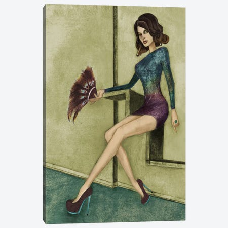 Danielle Canvas Print #JMI13} by Jami Goddess Art Print
