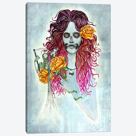Day Of Dead Canvas Print #JMI14} by Jami Goddess Canvas Artwork