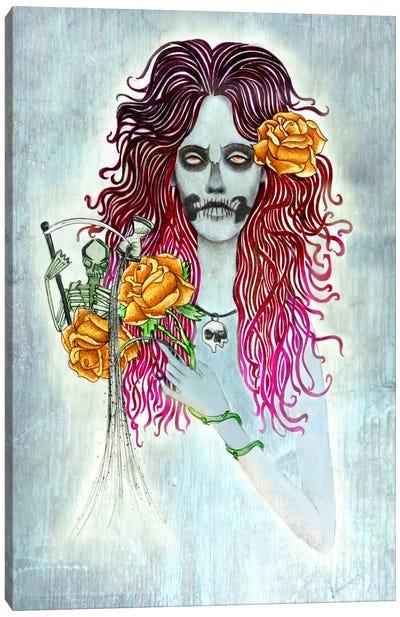 Day Of Dead Canvas Print #JMI14