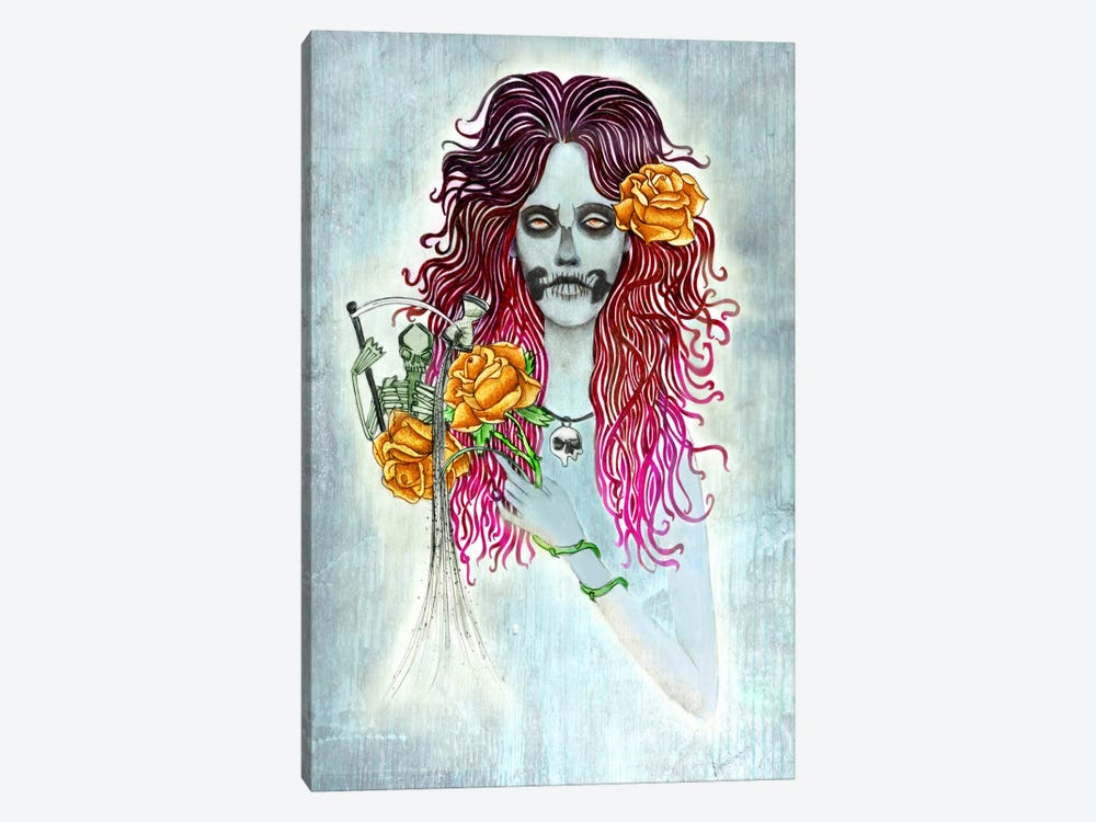 Day Of Dead by Jami Goddess 1-piece Canvas Art Print