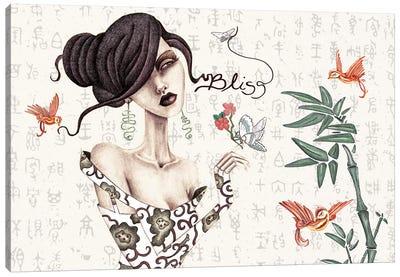 Geisha Canvas Print #JMI20