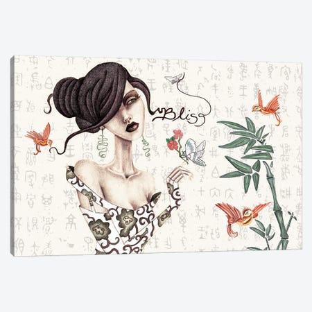 Geisha Canvas Print #JMI20} by Jami Goddess Canvas Art