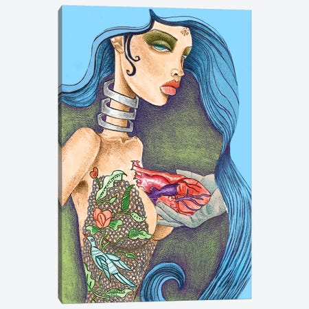 Heart Canvas Print #JMI24} by Jami Goddess Art Print