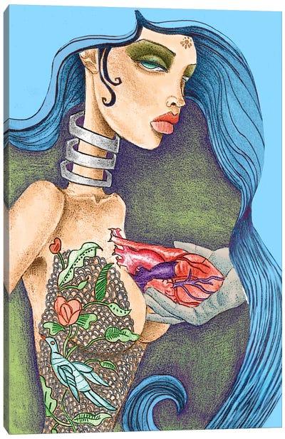 Heart Canvas Art Print
