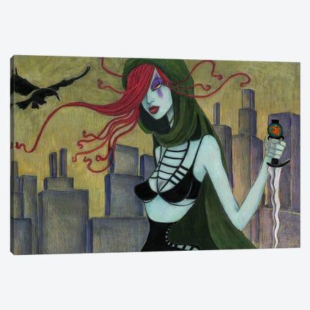 Jane At Night Canvas Print #JMI26} by Jami Goddess Canvas Print