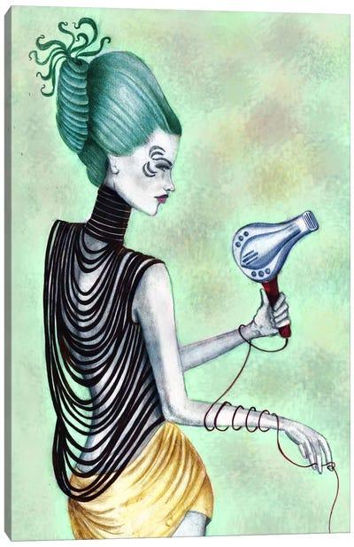 Beauty Blowout Canvas Art Print